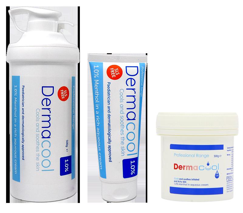 dermacool bottles